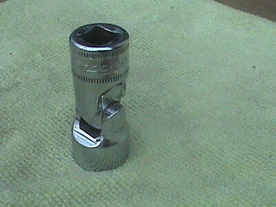 Snap on metric 15mm universal shallow socket 6 pt 3/8 dr newer logo FSUM15