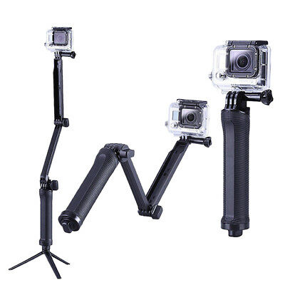 3 way Selfie Handheld Stick Monopod Folding Holder for  4 3+ 3 2 RS