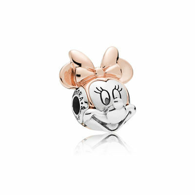 Pandora Minnie Mouse Charm Disney Co,Rose& Silber, New Collection Dez. 2018