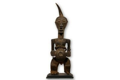 """Songye Figure / Statue 41"""" with base - DRC"""