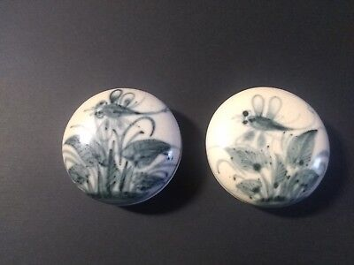 Antique 19th C. Chinese Box And Covers/Natural Pair