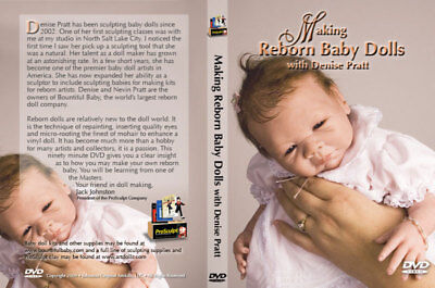 BOUNTIFUL BABY - DVD-Making Reborn Dolls  - 90 mins of EXPERT TUITION & GUIDANCE