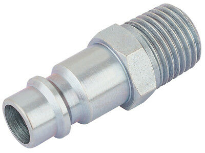 """054415 Draper 1/4"""" BSP Male Nut PCL Euro Coupling Adaptor (Sold Loose) NEW"""