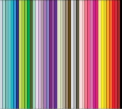 100 quilling paper strips in various colours 3mm wide