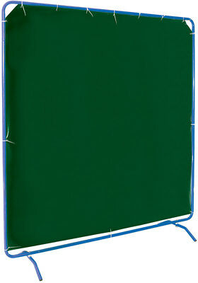 008170 Draper 6' x 6' Welding Curtain with Frame NEW