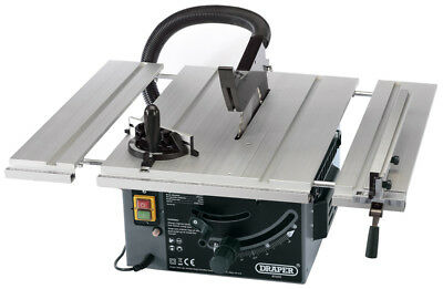 082570 Draper 250mm Extending Table Saw (1800W) NEW