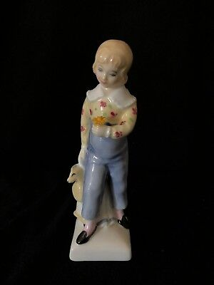 "Rare Vintage Royal Doulton English Porcelain Figurine ""Tom"" HN 2864"