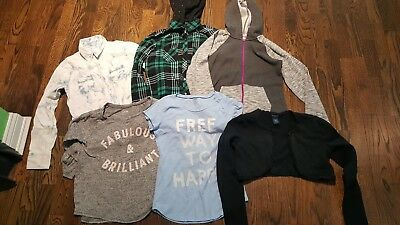 Lot of 6 pieces of girls size 14 shirts/tops