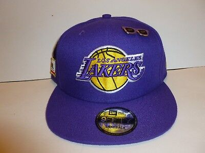 low priced 6e194 a47c1 ... reduced los angeles lakers new era nba 9fifty snapback adjustable  baseball mens hat cap 123b1 82dd6