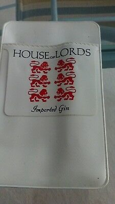 Vintage House of Lords Imported Gin Pocket Protector