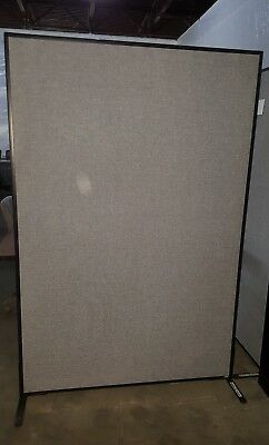 6ft tall Free Standing Panels - Cubicle walls with fabric