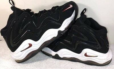 2008 Nike Air Pippen 1 Retro OG Black Varsity Red-White Size 10.5 Rare  Vintage 726a4cfc5