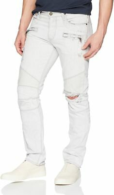 65e51426d0b Hudson Blinder Biker Skinny Jean, Extracted White Distressed Men's Denim,  ...