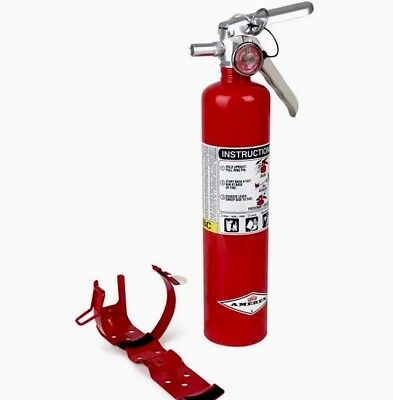 New Amerex B417T 2.5lb ABC Multi-Purpose Fire Extinguisher & Certification Tag