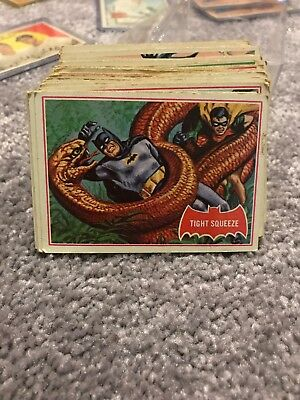 1960's Lot of TV Batman Collectible Trading Cards- Illustrated & Pictures 200+