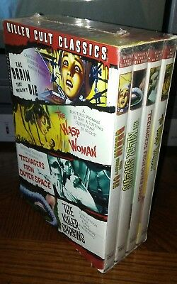 Killer Cult Classics - 4 Pack DVD 2005 4-Disc Set Horror Mystery Thriller Sealed