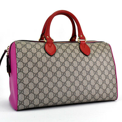 70210760324 GUCCI LIMITED EDITION Beige Ebony GG Supreme Canvas Butterfly ...