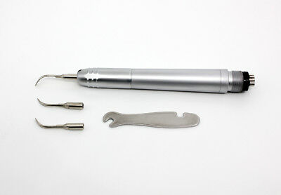 LY Dental Air Ultrasonic Scaler Handpiece Sonic Perio Hygienist 4 Holes UK