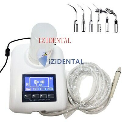 Dental LCD Screen Ultrasonic Pizeo Scaler with Water Tank EMS Woodpecker Fit UK