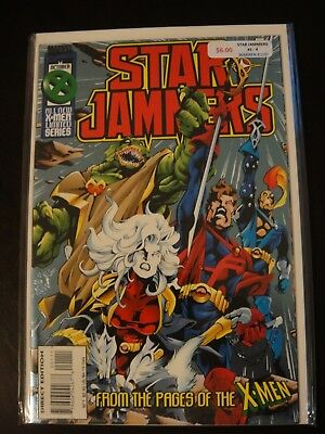 STARJAMMERS #1 2 3 4 Marvel Complete Series! BLOWOUT ON HUNDREDS OF SETS!