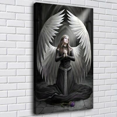 """12""""x20"""" Angel Wings HD Canvas prints Painting Home Decor Picture Room Wall art"""