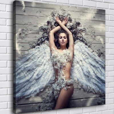 Sexy Angel HD Canvas Prints Painting Home Room Decor Picture Wall Art Poster 724