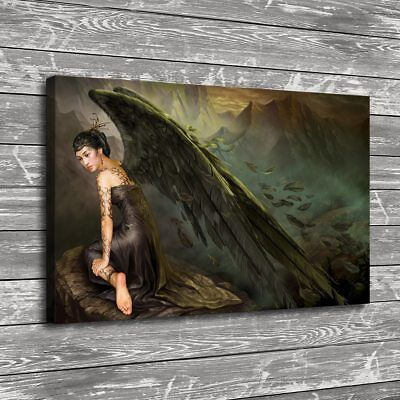 Woman Angel Painting HD Prints on Canvas Home Decor Room Wall Art Picture 106397