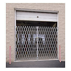 """Double Folding Gate, 18'W to 20'W and 7'6""""H, Lot of 1"""
