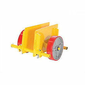 "VESTIL Adjustable Plate & Slab Dolly, 8"" Polyurethane 1000 Lb., Lot of 1"