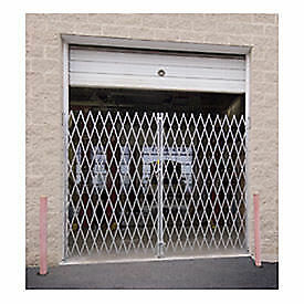 """Double Folding Gate, 16'W to 18'W and 7'6""""H, Lot of 1"""