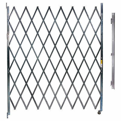 """Single Folding Gate, 10'W to 11'W and 6'6""""H, Lot of 1"""