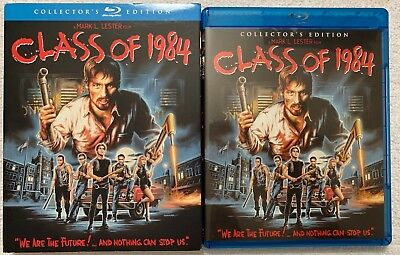 Class Of 1984 Blu Ray Collectors Edition + Rare Oop Scream Factory Slipcover