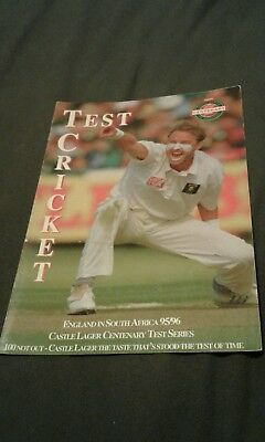 england in south africa 1995/96 test cricket a s Africa publication