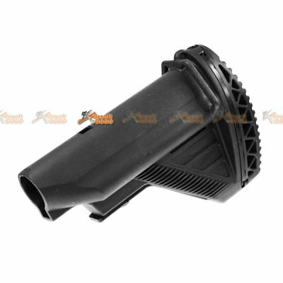 416 Style Crane Stock for M4 AEG Airsoft Toy (Black)