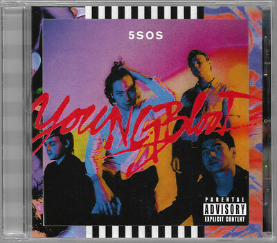 5SOS ‎- 5 Seconds of Summer - Youngblood CD ALBUM NEW (14.1)