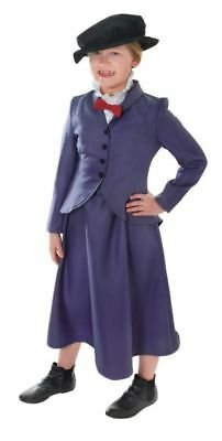 SALE! Kids Victorian Nanny Girls Book Week Fancy Dress Costume Party Outfit