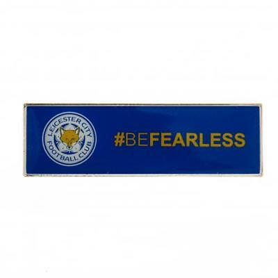 Leicester City F.C. Badge #BeFearless