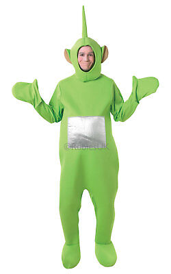 Adult Dipsy Teletubbies Licensed Kids TV Fancy Dress Costume Party Outfit