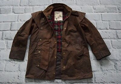 BARBOUR jacket backhouse town& country WAX coat C38 97 cm