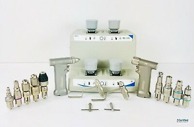 ConMed Hall M Power Surgical Drill Set w/ PRO6400, PRO6200, Battery Charger,MORE