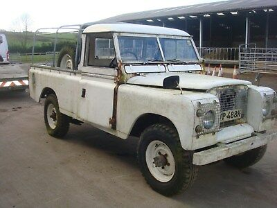 1972 Land Rover 109 Single Cab Pick Up