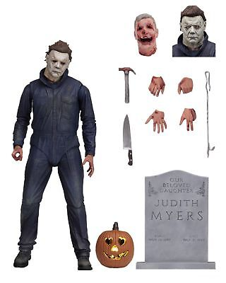 """NECA Halloween (2018 Movie) Ultimate Michael Myers 7"""" Action Figure Collection"""