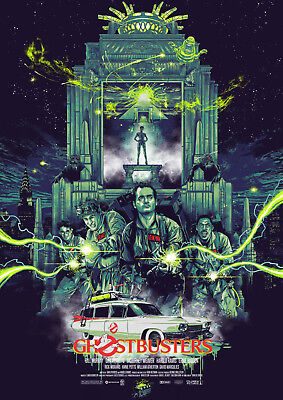 Art print POSTER / Canvas Ghostbusters 2 Classic Movie