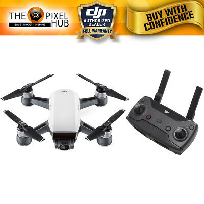 DJI Spark Quadcopter (Alpine White) with Remote Controller Combo READY TO SHIP