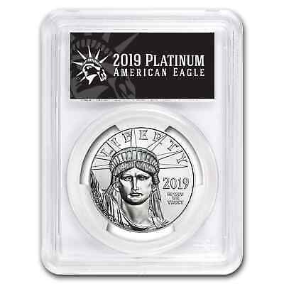 2019 1 oz Platinum American Eagle MS-70 PCGS (FD, Black Label) - SKU#181409