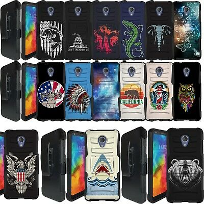 FOR ALCATEL TCL LX / IdealXTRA Phone Case Ring Stand Shockproof