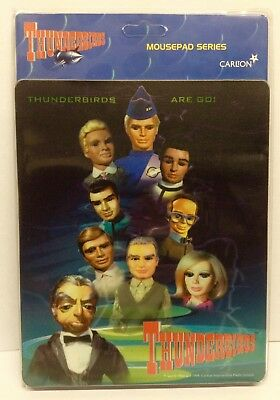 Thunderbirds Are Go Carlton TV Mouse Mat Brand New Condition