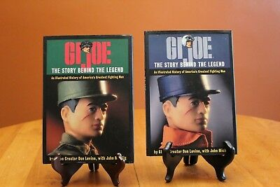 GI Joe The Story Behind the Legend Levine & Michlig w/ 2 Different Dust Jackets