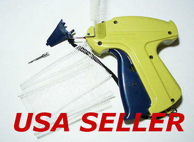 "Garments Price Label Tag Gun + 1000 2"" Barbs and 1 Extra Spare Needle"
