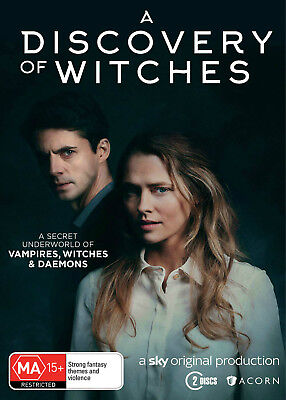 A Discovery Of Witches Brand New DVD Movie Pre Order R4 AU STOCK 09-01-2019